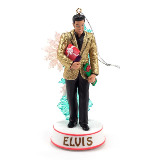 Elvis Presley - Holiday Greetings Ornament