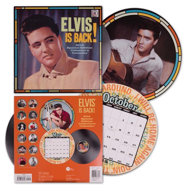 Elvis 2015 Collectors Special Edition Calendar