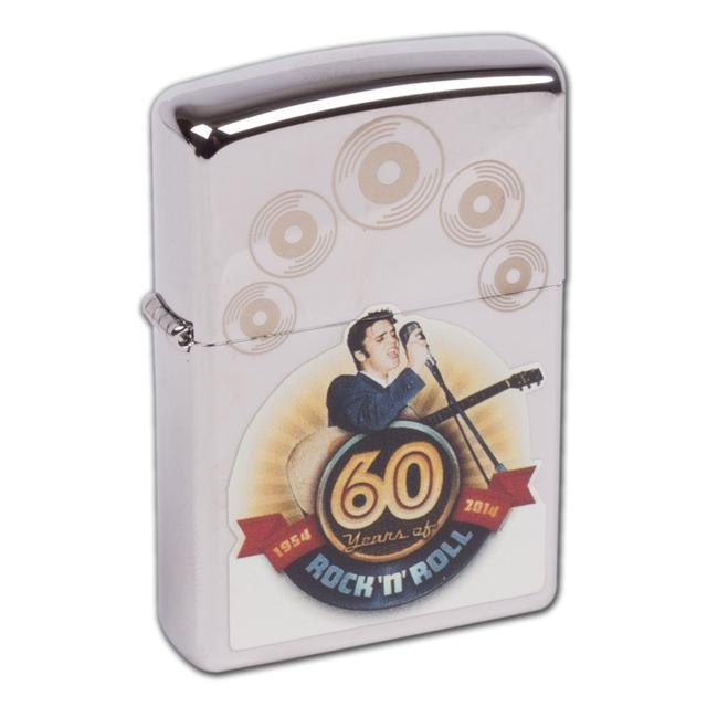 Elvis Presley - Zippo Lighter - 60th Anniversary of Rock n' Roll