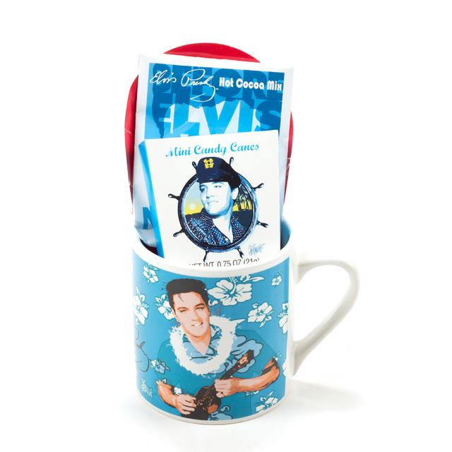 Elvis Presley Blue Hawaii Hot Cocoa Gift Set