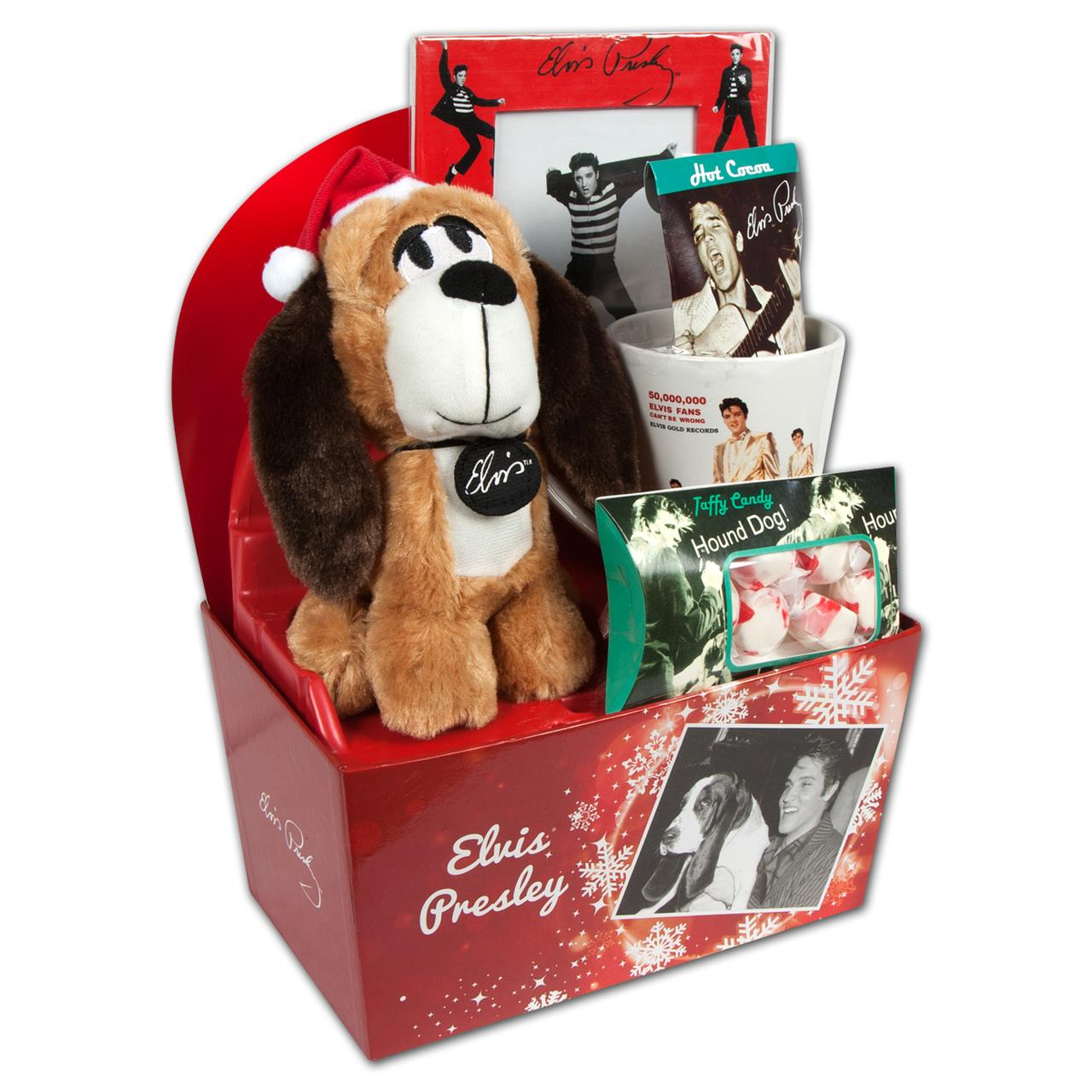 Elvis presley hound dog winter gift set for Unique christmas gifts for dog lovers