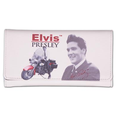 Elvis Presley - Motorcycle Clutch Wallet