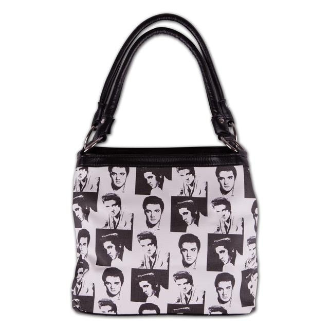 Elvis Presley - Collage Tote Bag
