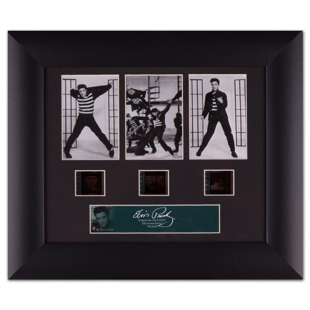 Elvis Presley - Classic Jailhouse Rock Framed Collectable