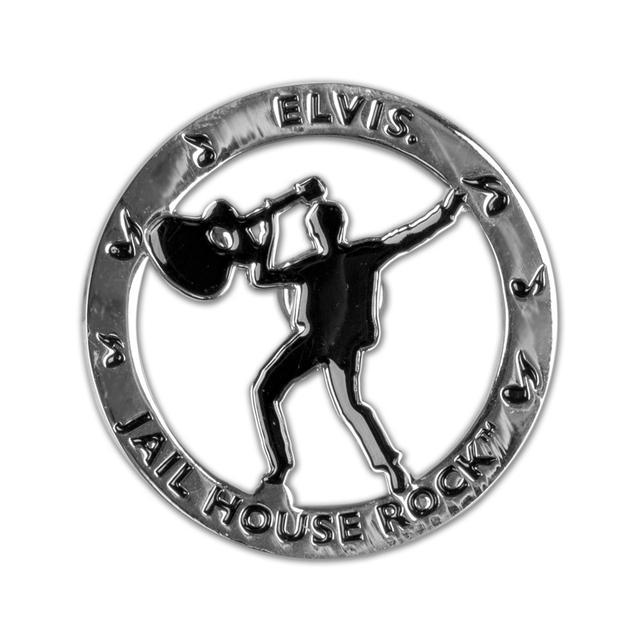 Elvis Jailhouse Rock DieCut Magnet
