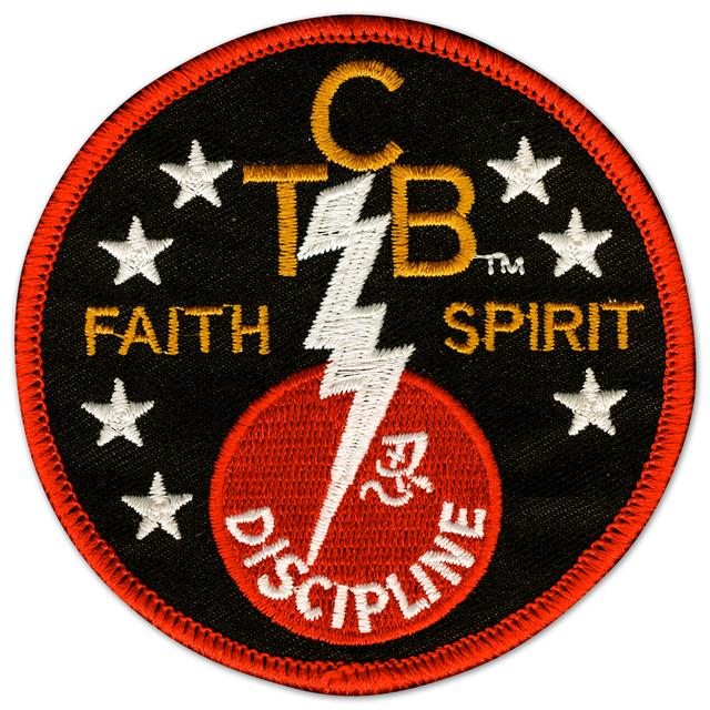 Elvis TCB Faith Spirit Patch
