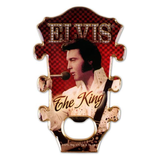 Elvis - The King Bottle Opener/Magnet