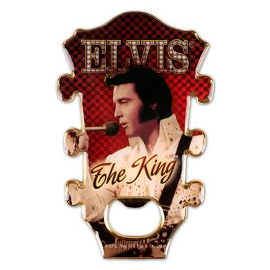 Elvis - The King Bottle Opener/Magnet