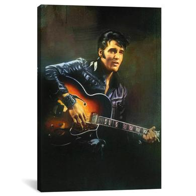 "Elvis '68 Special Canvas Print 26"" x 18"""