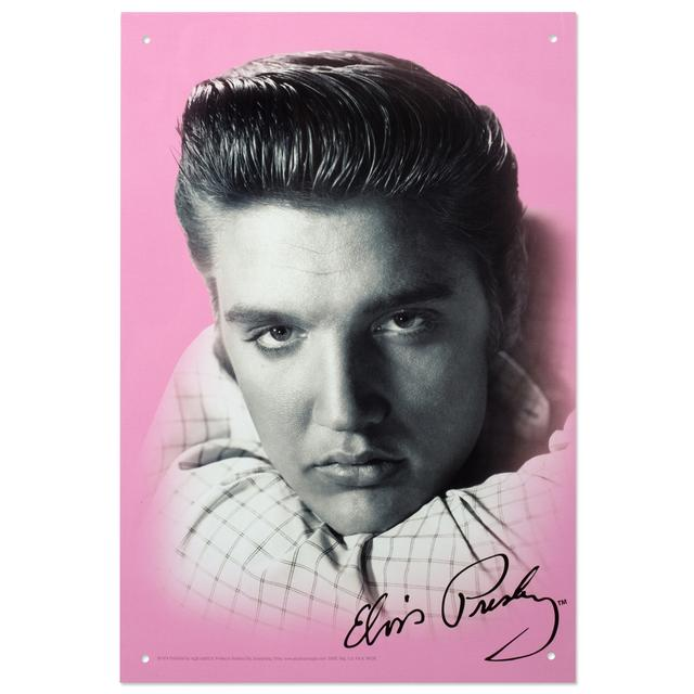 Elvis Glamour 8x11.5 Tin Sign