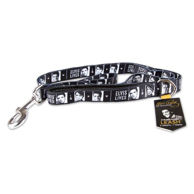 Elvis Lives Dog Collar