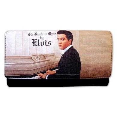 Elvis His Hand In Mine Clutch Wallet