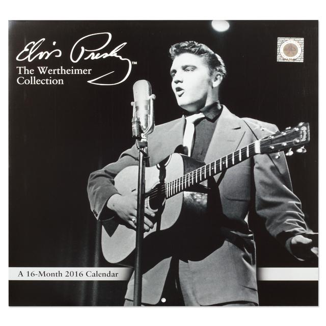 Elvis Wertheimer 2016 16 mo. Wall Calendar