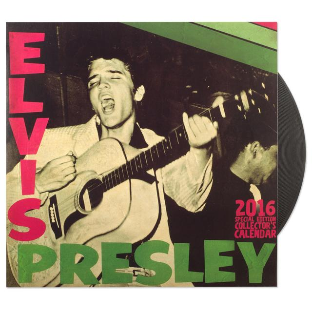 Elvis 2016 Special Edition Wall Calendar