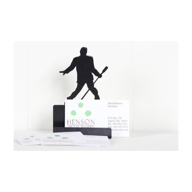 Elvis Microphone Card holder