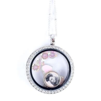 Elvis Floating Charm Necklace - Heartthrob