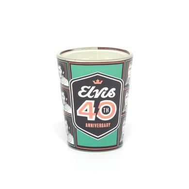 Elvis 2017 40th Anniversary Shot Glass