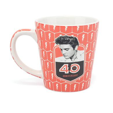 Elvis 2017 40th Anniversary Latte Mug