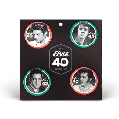 Elvis 2017 40th Anniversary Pin Set