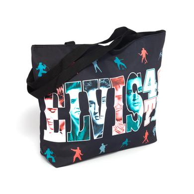Elvis 2017 40th Anniversary Letters Tote Bag