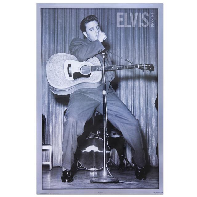 Elvis Dance Poster