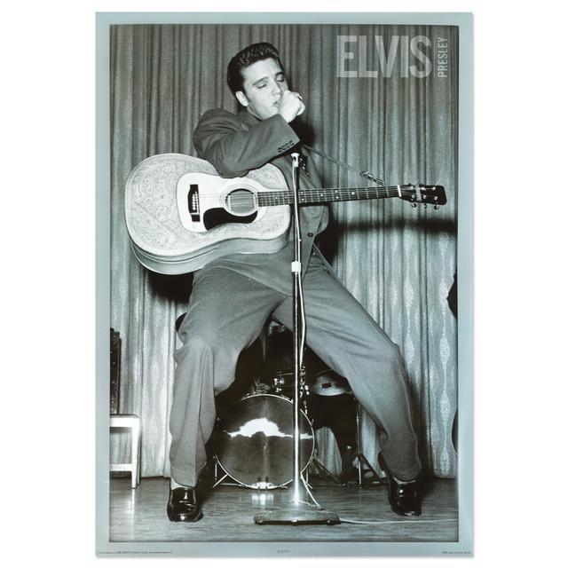 Elvis Ed Sullivan Poster