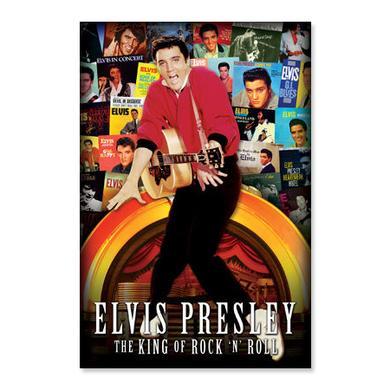 Elvis Albums Poster
