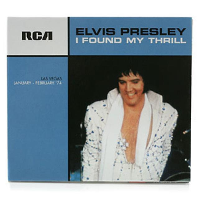 Elvis Presley I Found My Thrill FTD CD