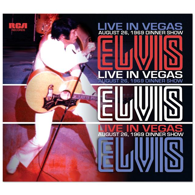Elvis - Live in Vegas FTD CD