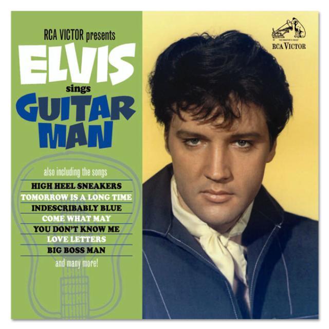 Elvis Sings Guitar Man FTD CD