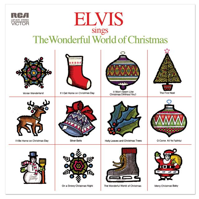 Elvis Sings the Wonderful World of Christmas FTD CD