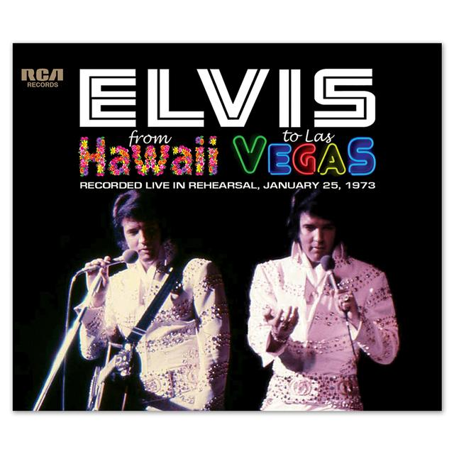 Elvis From Hawaii to Las Vegas FTD CD