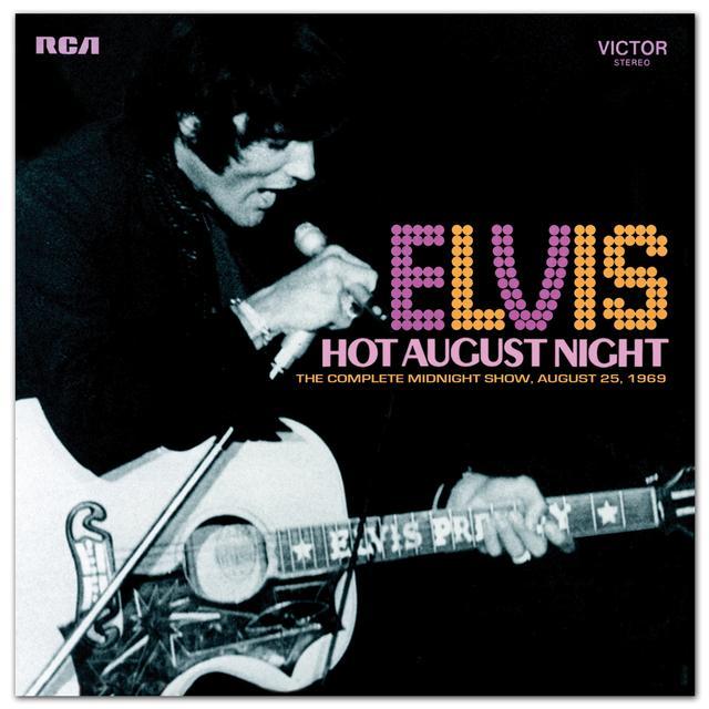 Elvis Hot August Night FTD CD