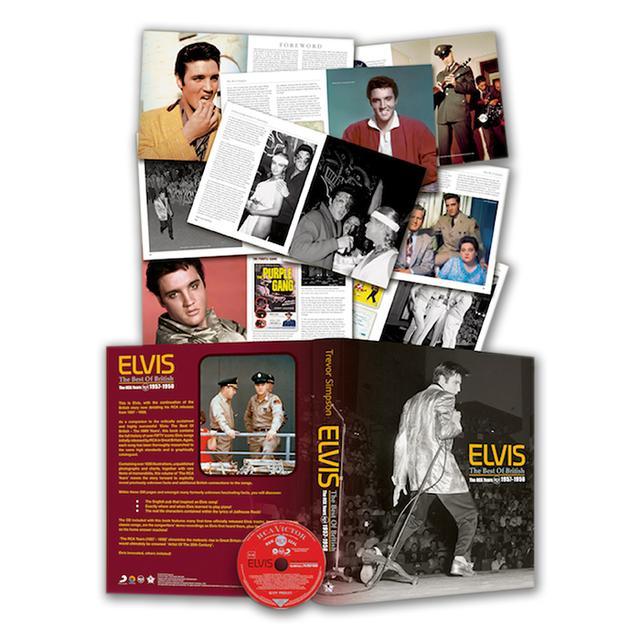 Elvis Best of British RCA Years FTD Book/CD