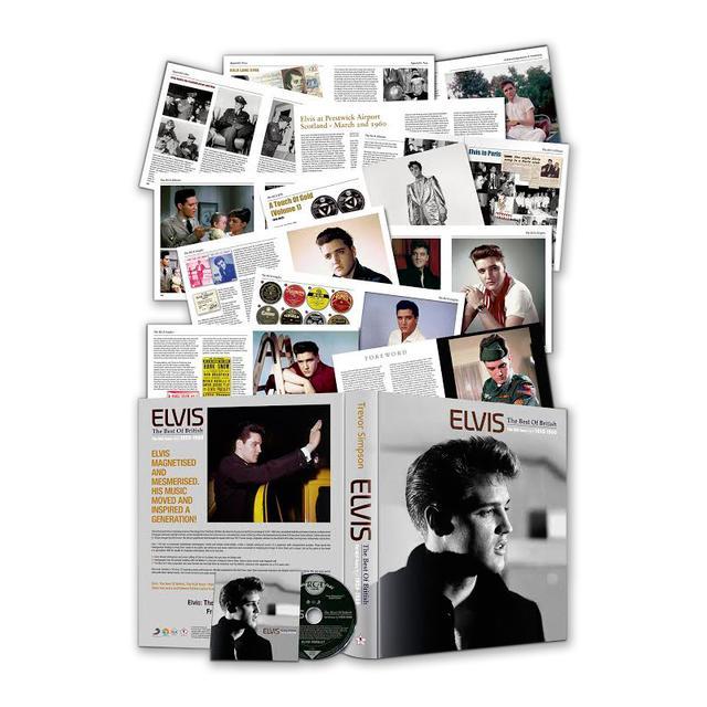 Elvis Presley Best Of British, The RCA Years 1959 – 1960 FTD CD/Book