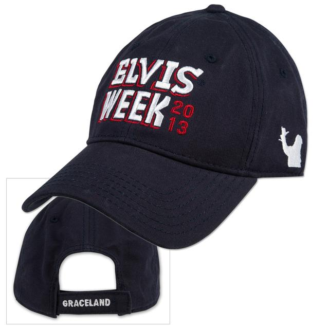 Elvis Week 2013 Adjustable Cap