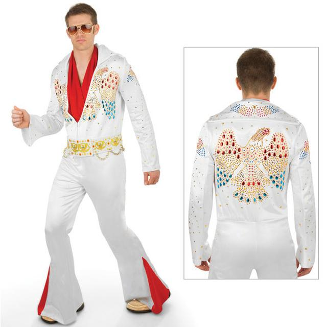 Elvis - Adult Deluxe Jumpsuit Costume