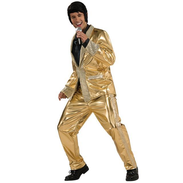 Elvis Grand Heritage Gold Lame Suit