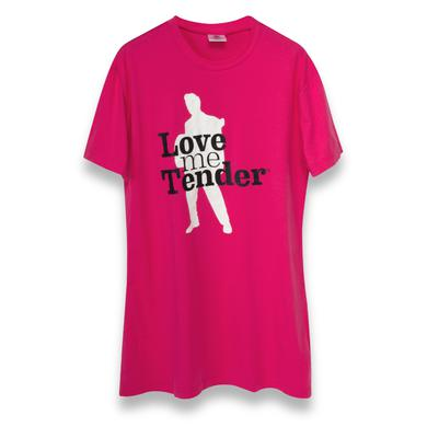 Elvis Love Me Tender Ladies Nightshirt