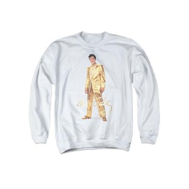 Elvis Gold Lame Suit Sweatshirt