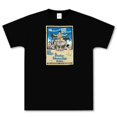 Elvis Paradise Hawaiian Style Womens T-Shirt