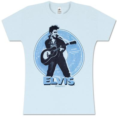 Elvis 45 RPM Women's Babydoll T-shirt
