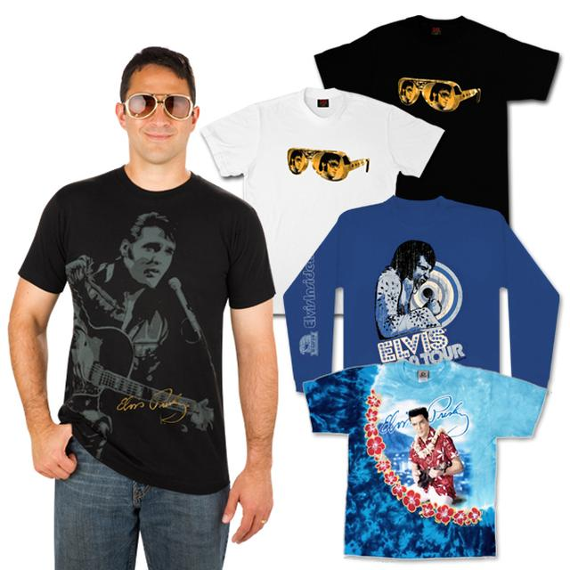 Elvis Men's T-Shirt Grab Bag