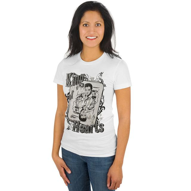 Elvis King of Hearts Women's T-Shirt