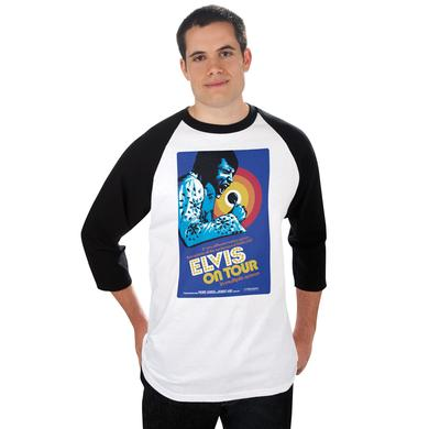 Elvis On Tour Raglan