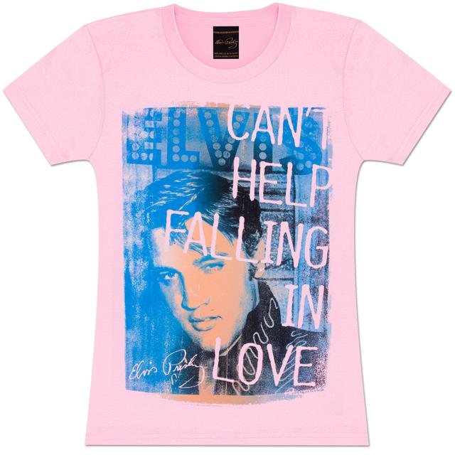 Elvis Falling in Love Ladies T-Shirt