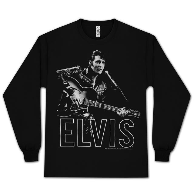 Elvis 68 Guitar T-shirt