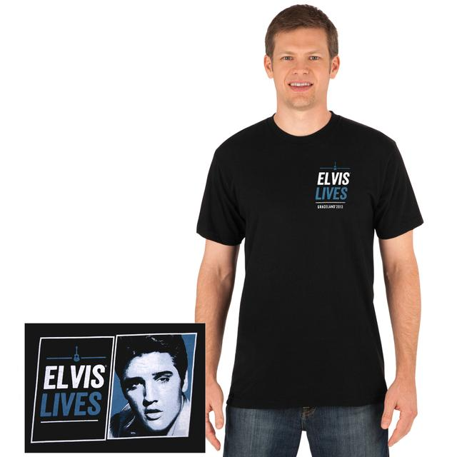 2013 Elvis Lives T-shirt