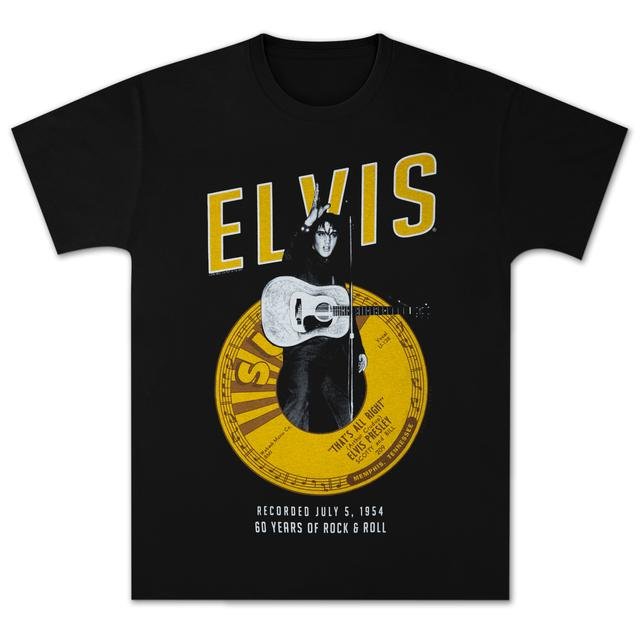 Sun Records Elvis That's All Right 60th T-Shirt