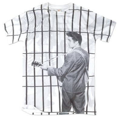 Elvis Presley Jailhouse Rock Total Print T-Shirt